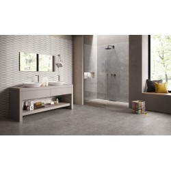 ERGON METAL IT SILVER 100X100  NATURALE RETT.  I GAT